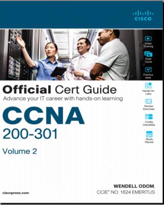 CCNA Enterprise official Cert guide Volume 2