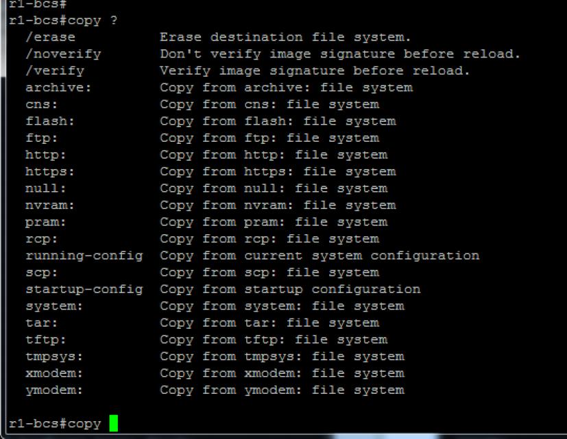 (IOS (Internetwork Operating System