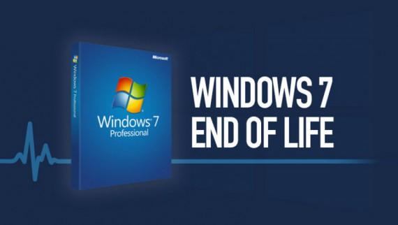 پایان پشتیبانی ویندوز 7